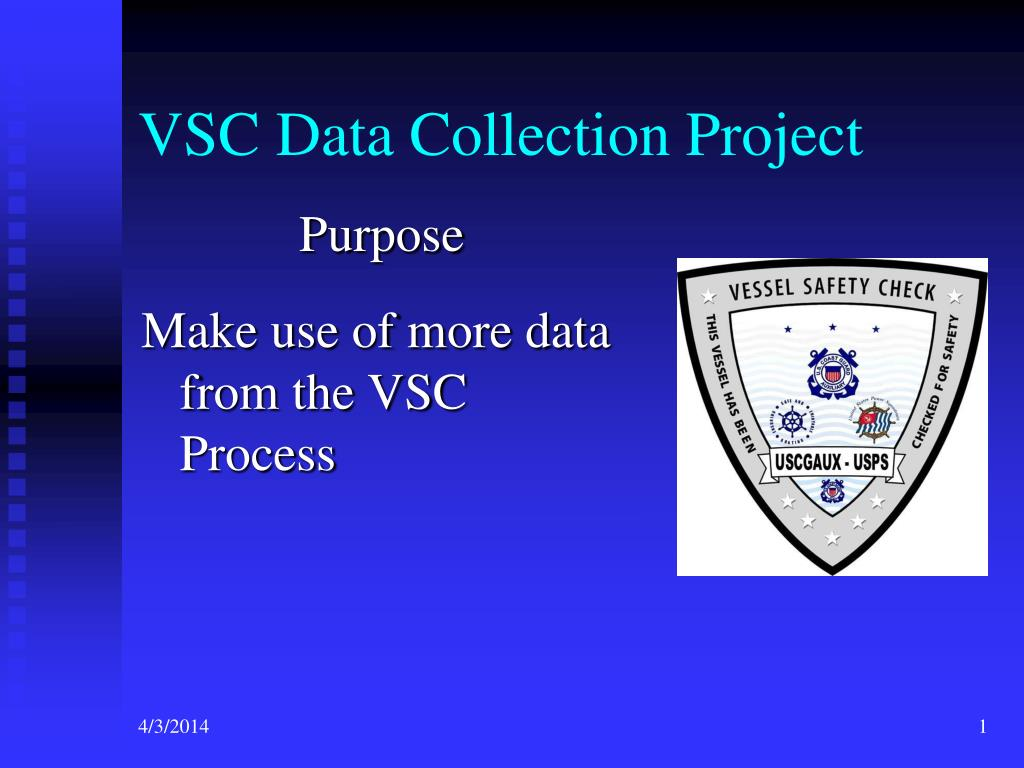 vsc data collection project l.