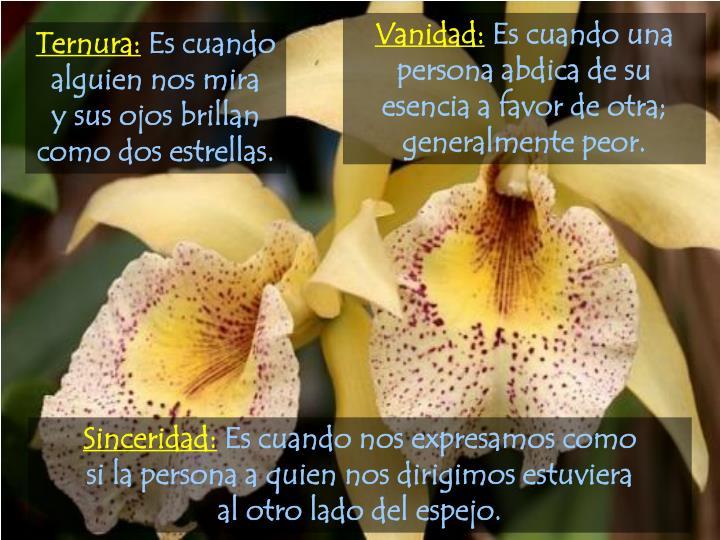 Vanidad: