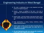 engineering industry in west bengal