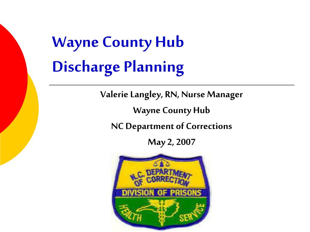 wayne county hub discharge planning l.