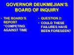 governor deukmejian s board of inquiry24