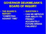 governor deukmejian s board of inquiry25