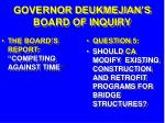 governor deukmejian s board of inquiry27