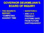 governor deukmejian s board of inquiry28