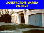 liquefaction marina district