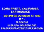 loma prieta california earthquake