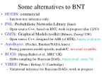 some alternatives to bnt