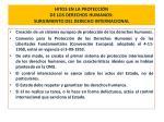 hitos en la protecci n de los derechos humanos surgimiento del derecho internacional15