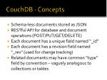 couchdb concepts