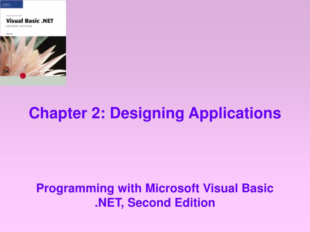 chapter 2 designing applications l.