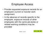 employee access23