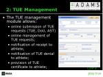 2 tue management