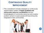continuous quality improvement23