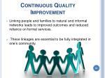 continuous quality improvement24