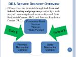 dda service delivery overview16