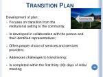 transition plan146