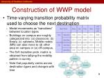 construction of wwp model1