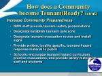 how does a community become tsunamiready cont1