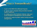 what is tsunamiready