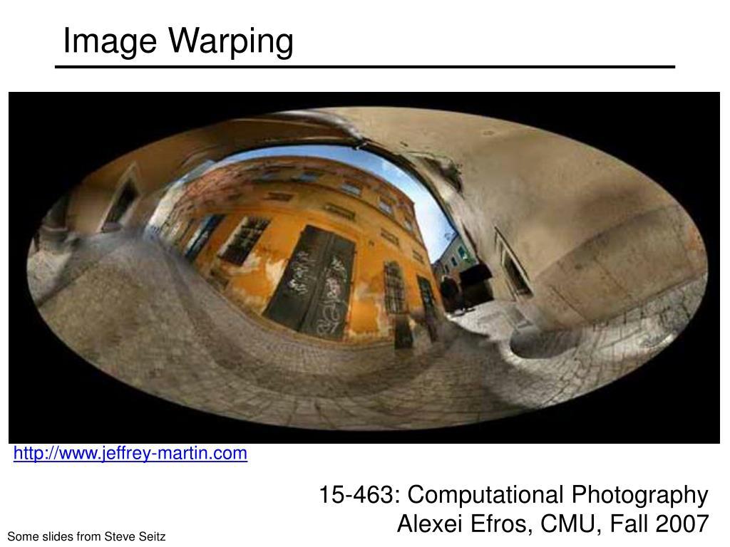 image warping l.