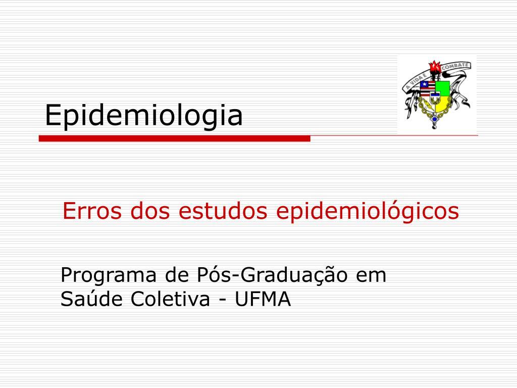 epidemiologia l.