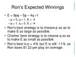 ron s expected winnings15