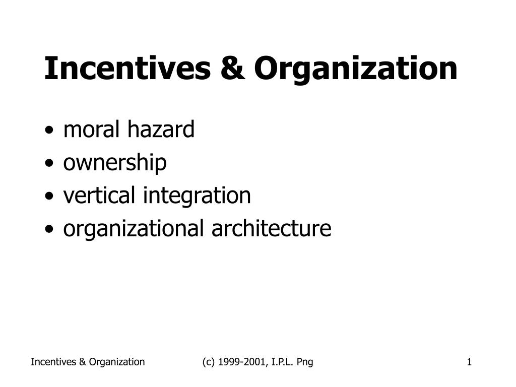 incentives organization l.