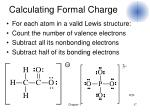 calculating formal charge