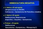 hemocultura negativa
