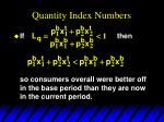 quantity index numbers4