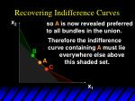 recovering indifference curves24