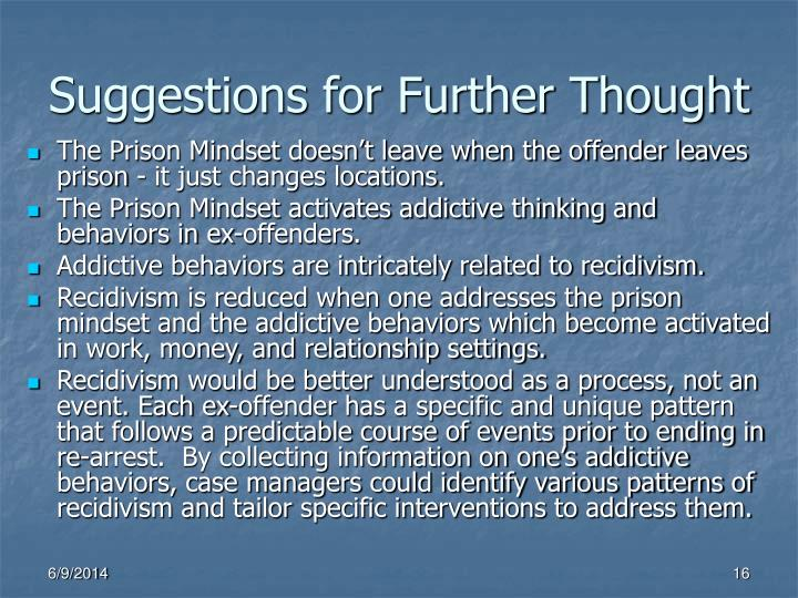 Suggestions for Further Thought