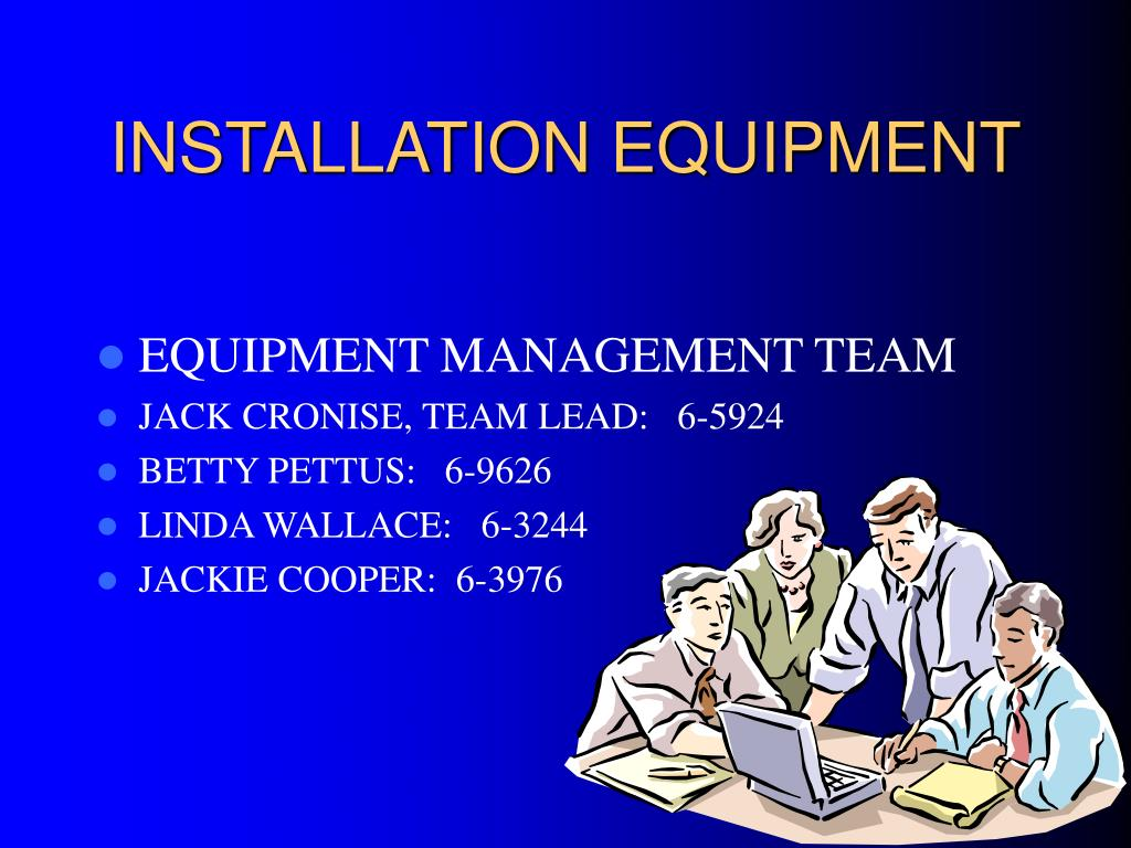 installation equipment l.