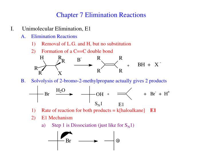 chapter 7 elimination reactions n.