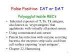 false positive iat or dat3