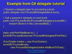 example from c delegate tutorial