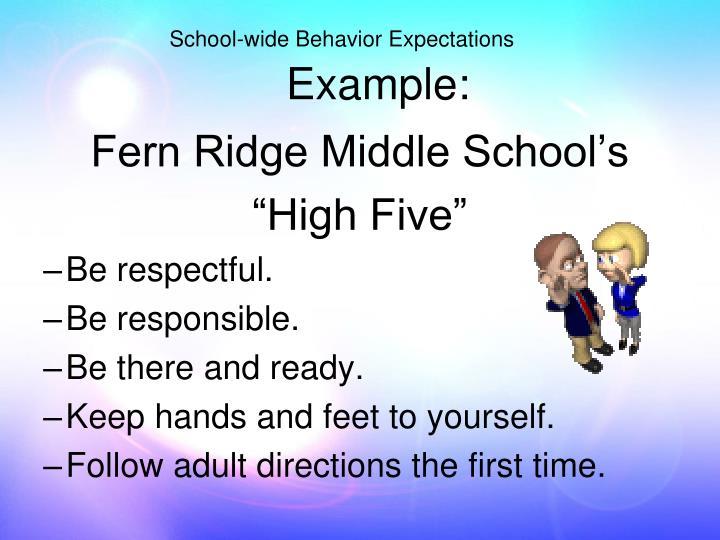 Fern Ridge Middle School's