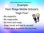 school wide behavior expectations example2