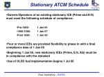stationary atcm schedule