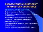 predicciones clim ticas y agricultura sostenible