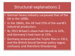 structural explanations 2