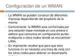 configuraci n de un wman