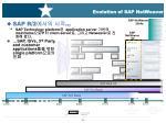 evolution of sap netweaver