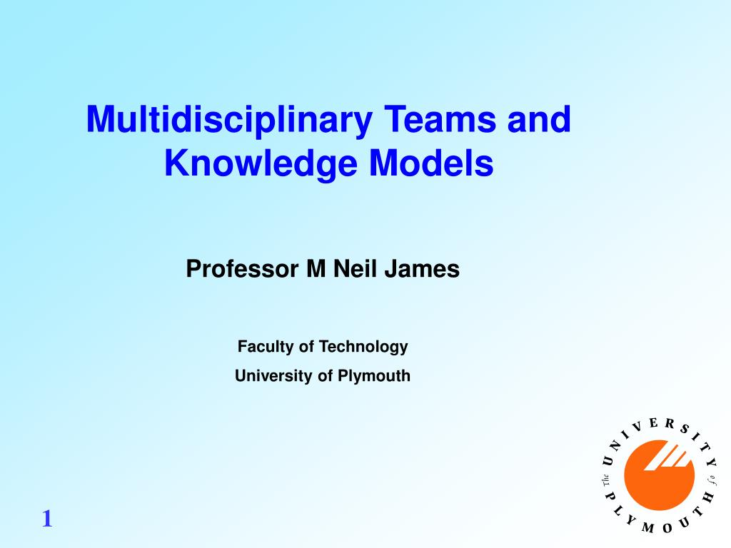 multidisciplinary teams and knowledge models l.