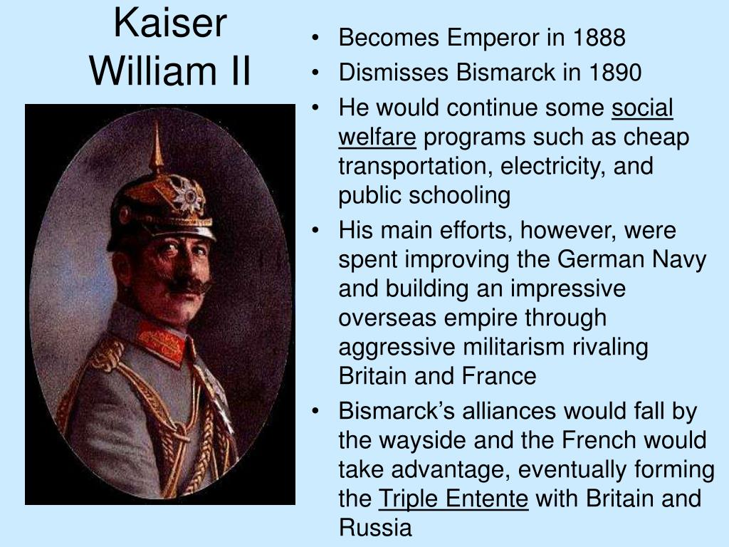 kaiser william ii l.