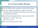24 4 convertible bonds