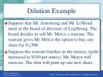 dilution example1