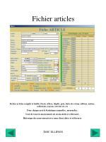 fichier articles