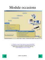 module occasions