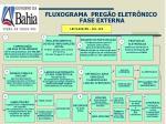 fluxograma preg o eletr nico fase externa
